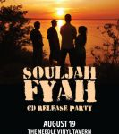 Edmonton Culture  The Needle Vinyl Tavern presents Souljah Fyah at The Needle Vinyl Tavern (Edmonton)  on August 19, 2016