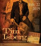Uptown Folk Club presents the 'Running on the Edge' CD Release Tim Isberg at Uptown Folk Club (Edmonton)  on February 22, 2019