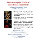 Traditional Folk Music Workshop feat. Dana Wylie & others at Expressionz Cafe (Edmonton)  on February 12, 2011