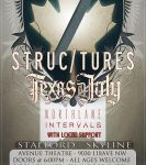 Raised Fist Productions presents Structures & others at Avenue Theatre (Edmonton)  on May 21, 2013
