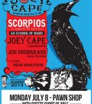 Joey Cape and Pawn Shop present feat. Scorpios & others at Pawnshop Live (Edmonton)  on July 8, 2013