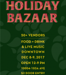Holiday Bazaar Concert Series feat. Celeigh Cardinal & others at Vignettes Building (Edmonton)  on December 8, 2017